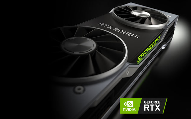 Image showing an Nvidia RTX 2080 ti graphics card