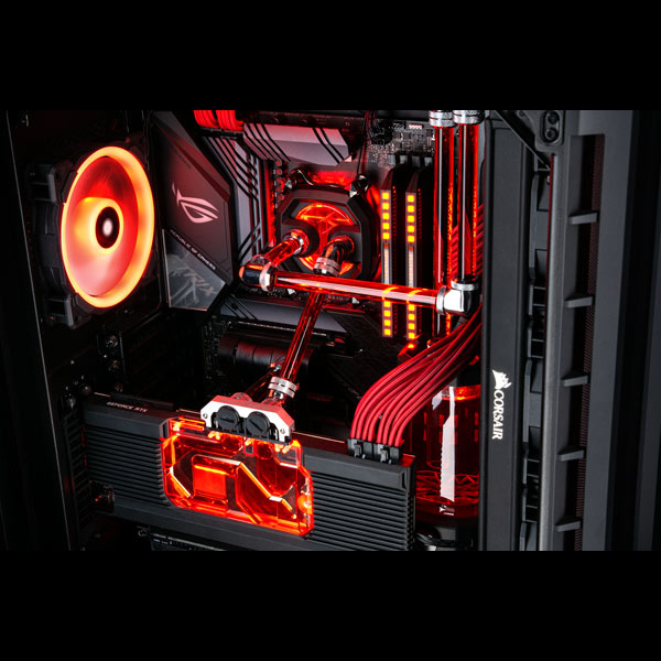 Build a 9th Gen Intel Hydro X Water Cooled PC