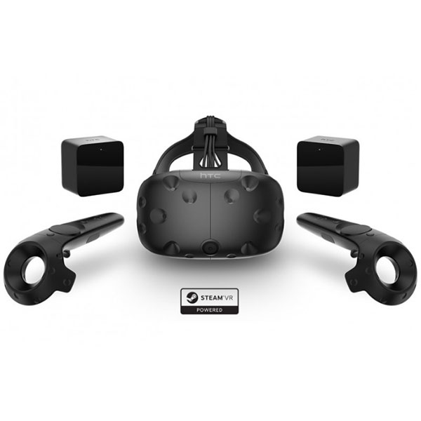 HTC Vive VR Headset Full Kit including Controllers and Base Stations