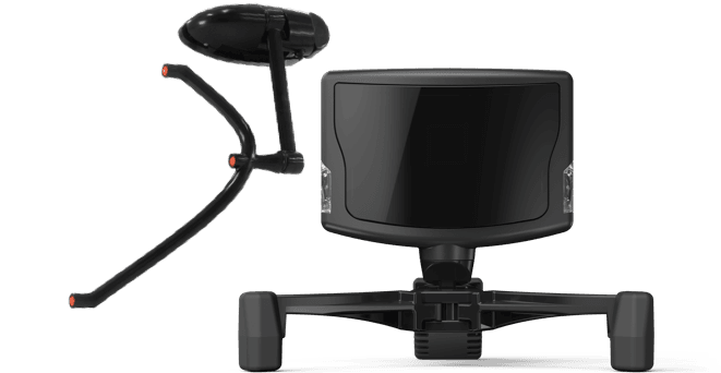 Image of the TrackIR 4 and 5 head and eye tracker