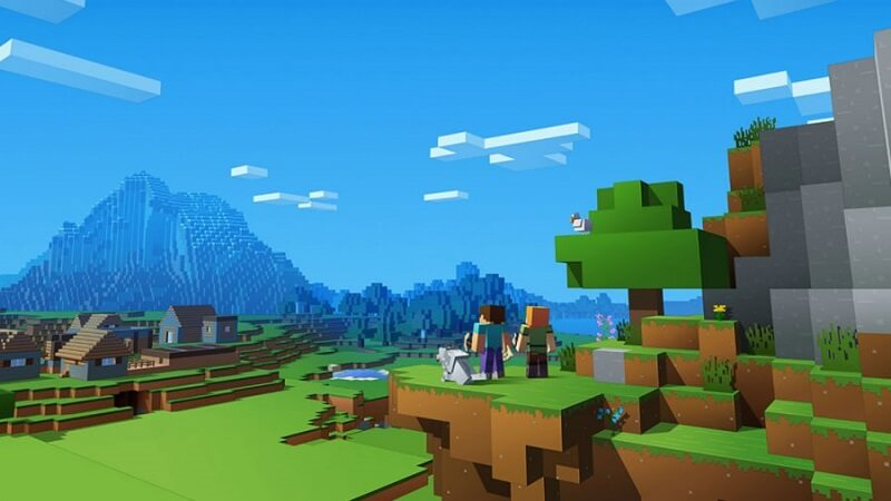 Promo image for Minecraft