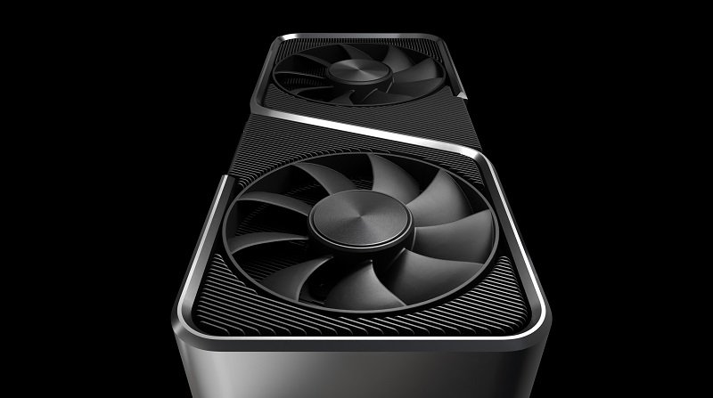 Image showing the 3070's fan design