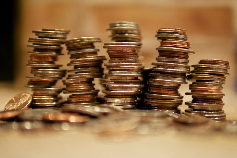 Image of a stack of coins