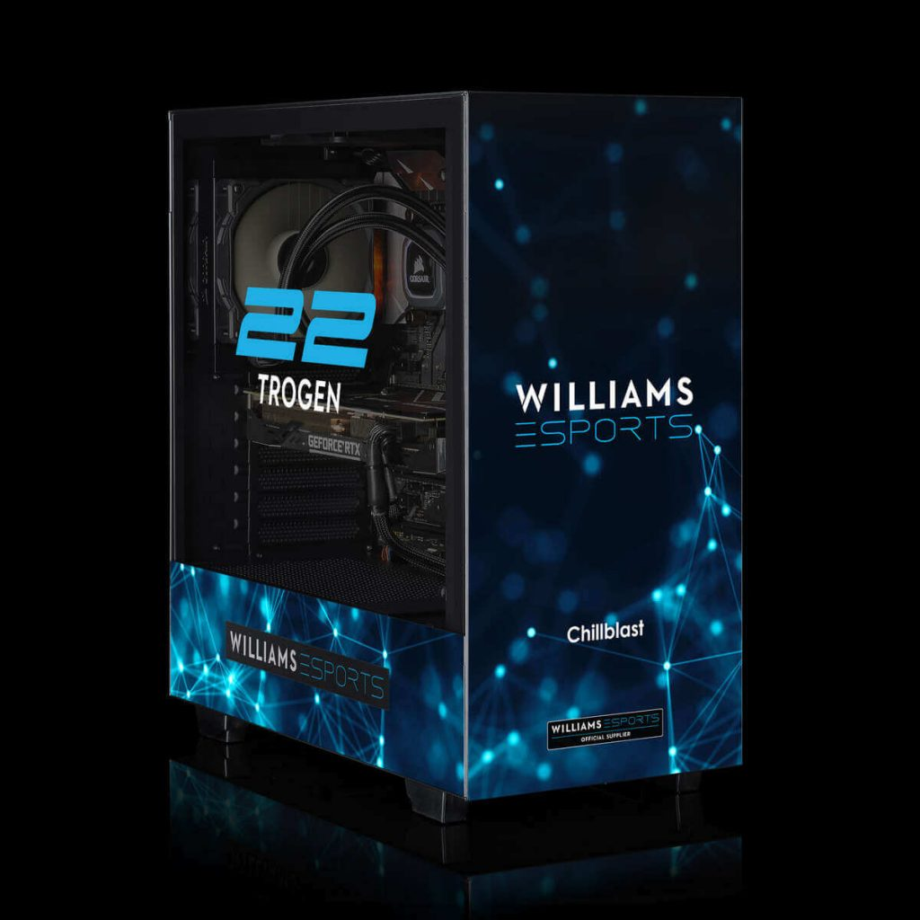 Image of the Chillblast Official Williams Esports Ultimate Gaming PC