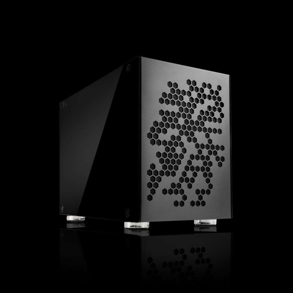 Image of the Chillblast Fusion Pocket Rocket Ultimate SFF Gaming PC against a dark background