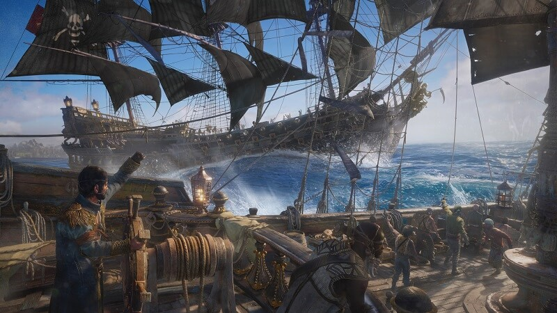 Promotional image for the game Skull and Bones