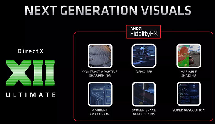 Image detailing the features of AMD's FidelityFX Super Resolution
