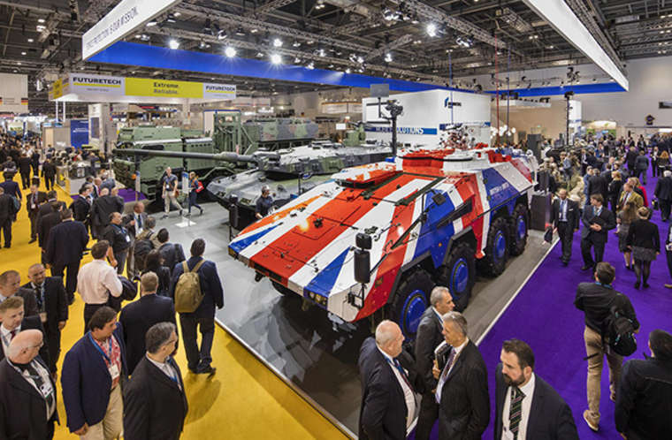 Vist Chillblast at the Defence and Security Equipment International (DSEI) Show 2019