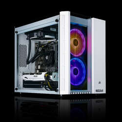 Chillblast Fusion Crystal Lite RTX 3060 TI Gaming PC