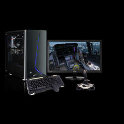 Chillblast Fusion GTX 1660 Custom Sim PC - Blue Bundle