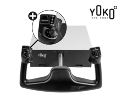 "Virtual Fly Flight Sim Yoke – Yoko ""the Yoke"" PLUS"