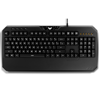 ASUS TUF Gaming K5 keyboard USB Black