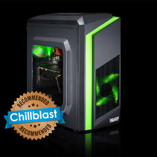 Chillblast Fusion GTX 1050 Custom Gaming PC - Green