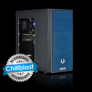 Chillblast Fusion RX 580 Custom Gaming PC - Blue
