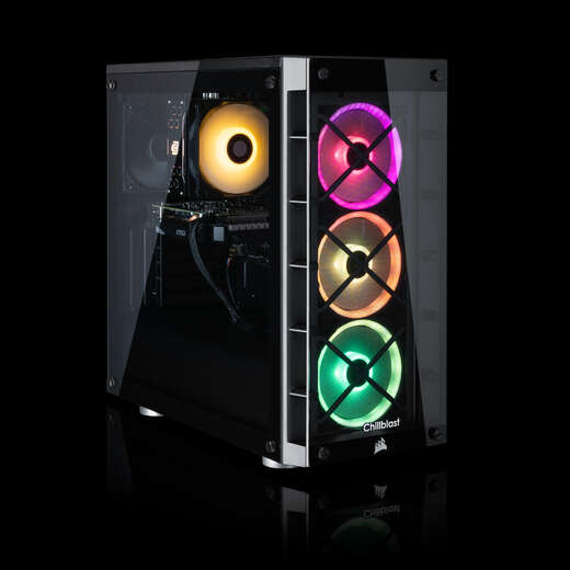 PRE-ORDER - Chillblast Fusion Onyx Ryzen Gaming PC