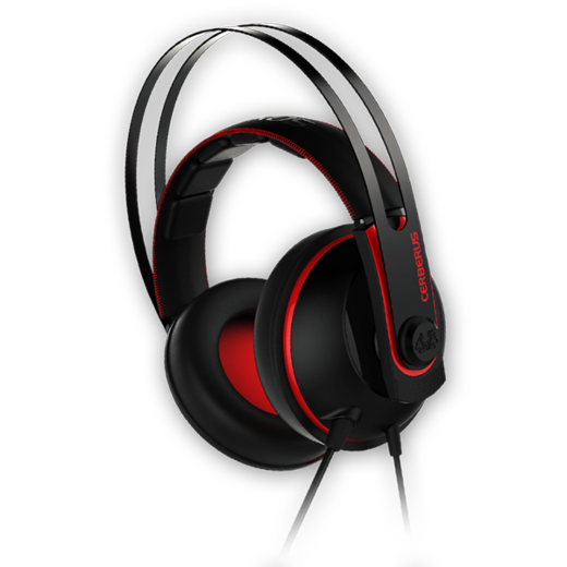 Asus Cerberus Gaming Headset - Red
