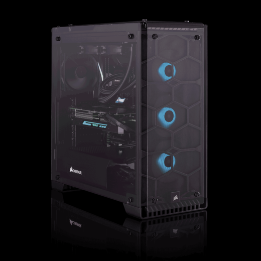 Build a Corsair iCue 9th Gen Intel PC