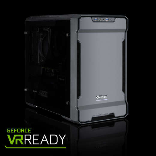 Chillblast Fusion V10 Black / Red Gaming PC - (Ex-Demo)