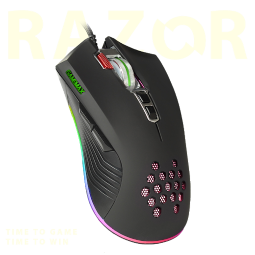 GameMax Razor RGB Gaming Mouse Wired