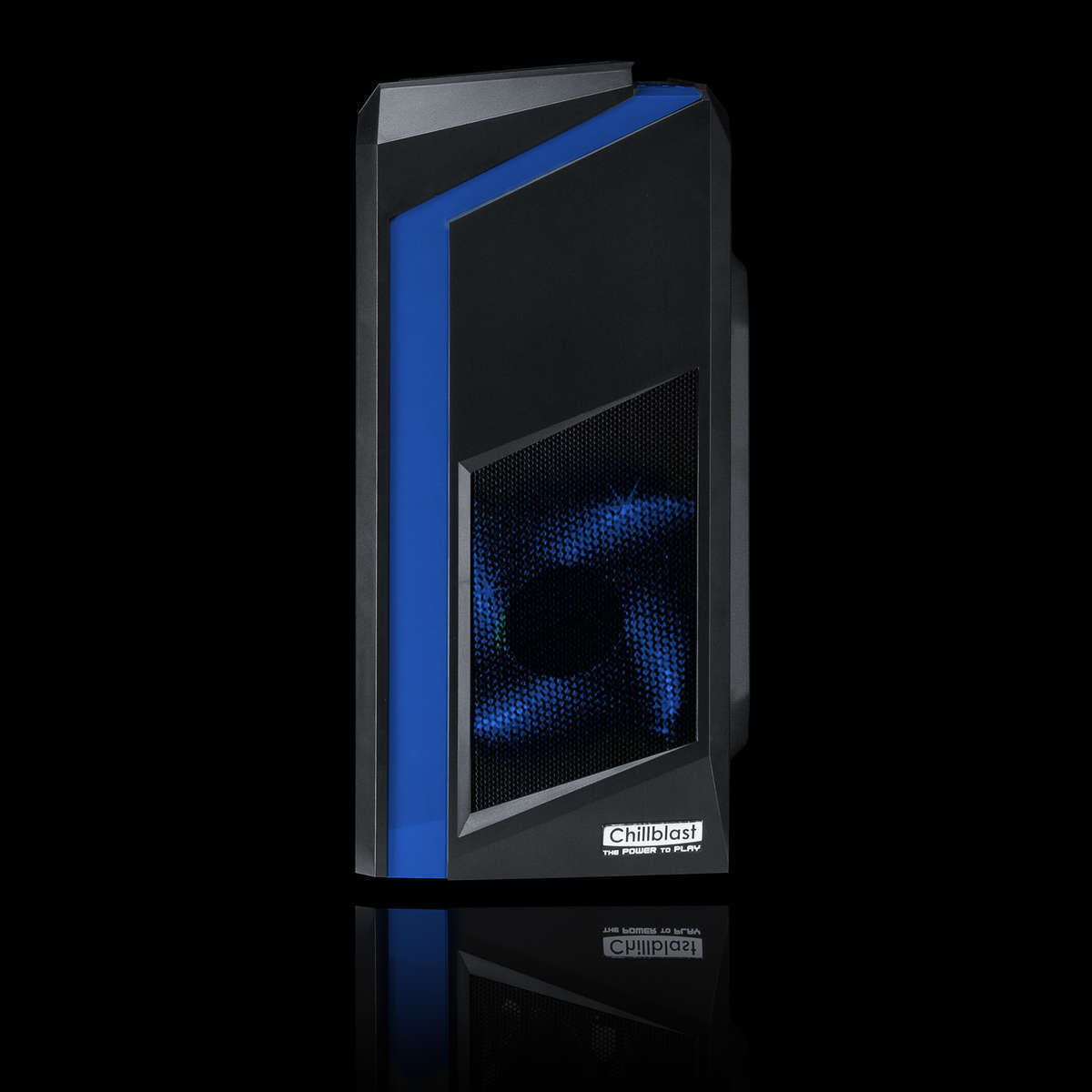 Chillblast Fusion Outlaw Gaming PC - Blue