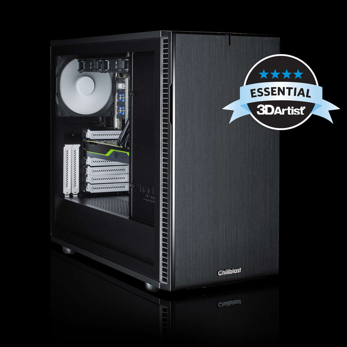 Chillblast Fusion Turing RTX 5000 Core i9 Pro 3D Editing Workstation