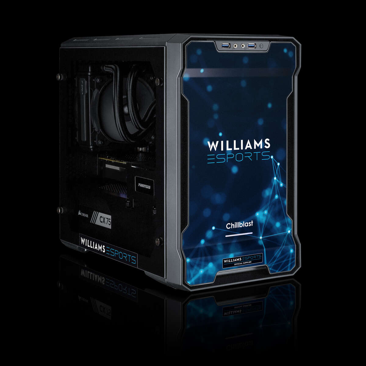Chillblast Official Williams Esports Pro Gaming PC