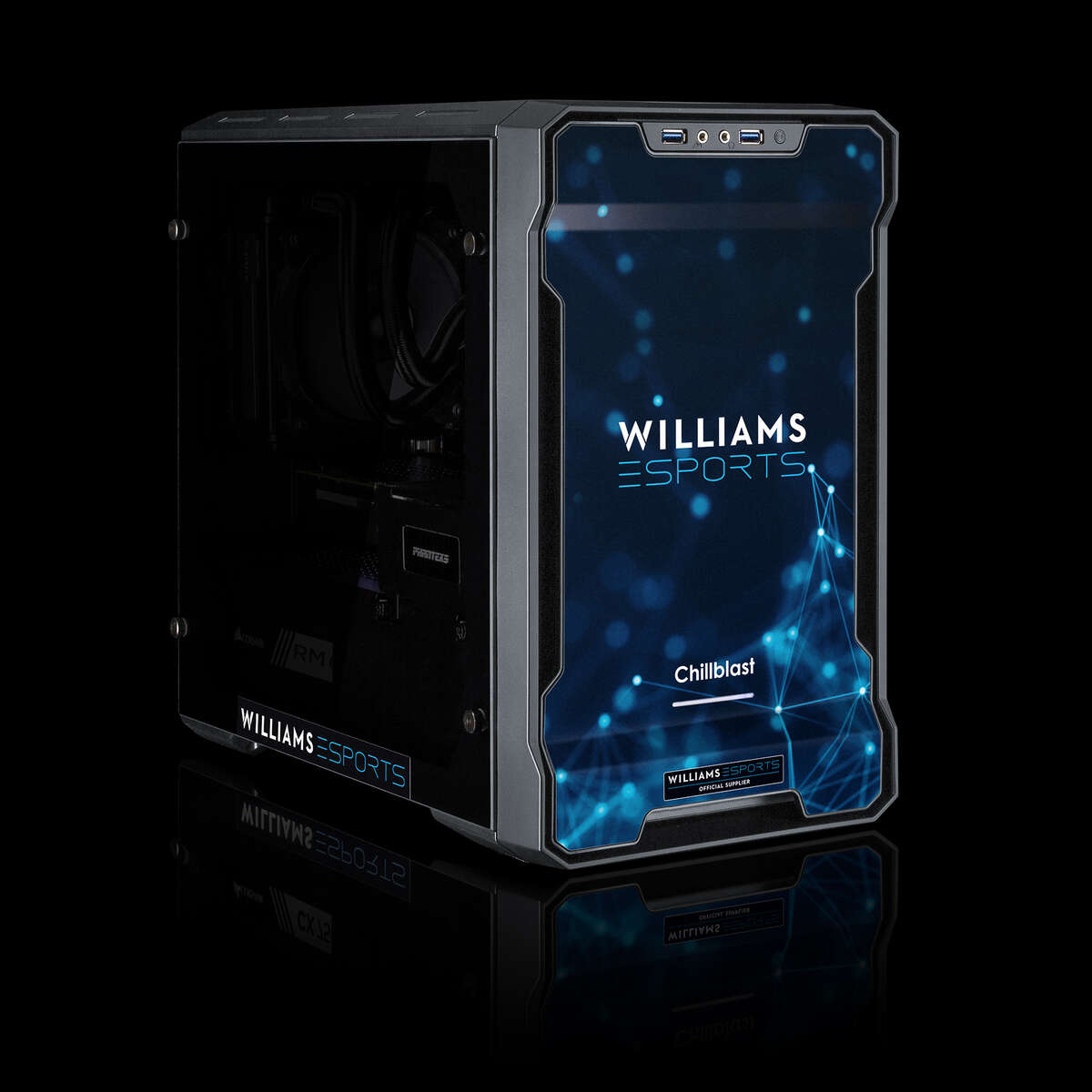 PRE-ORDER - Chillblast Official Williams Esports Ultimate Gaming PC