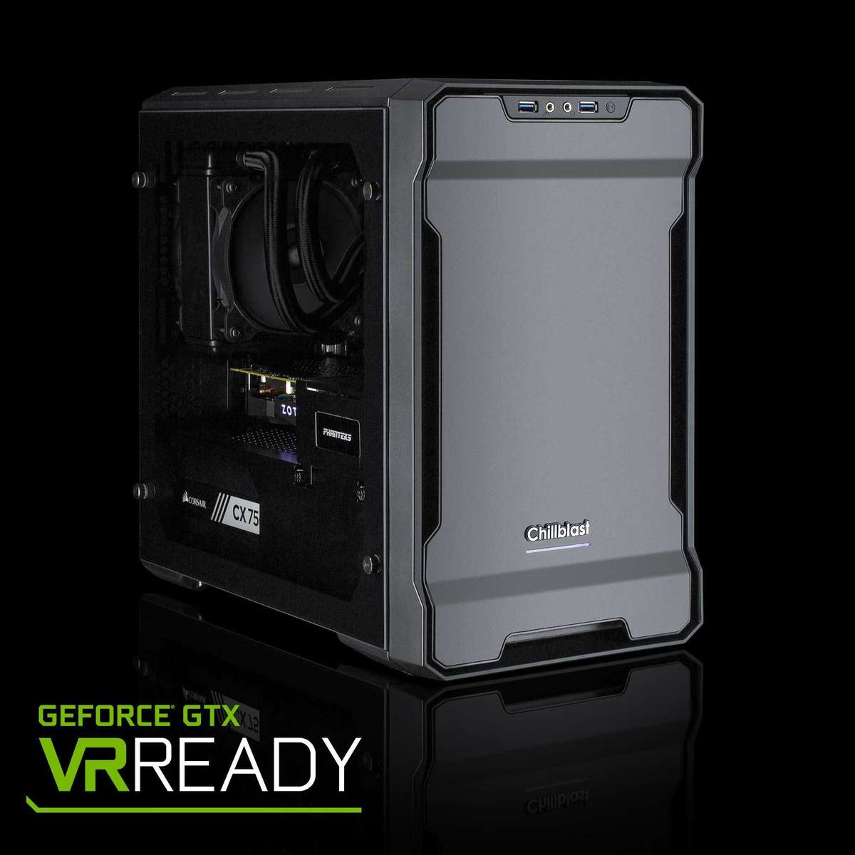 Image of the Chillblast Fusion Wolf 2080 Super Gaming PC