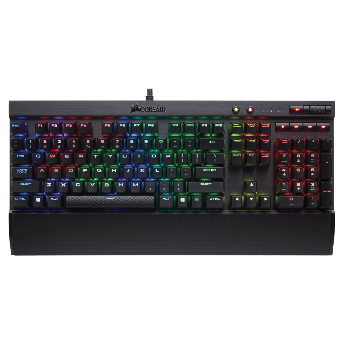Corsair K70 LUX RGB Mechanical Gaming Keyboard - MX SILENT