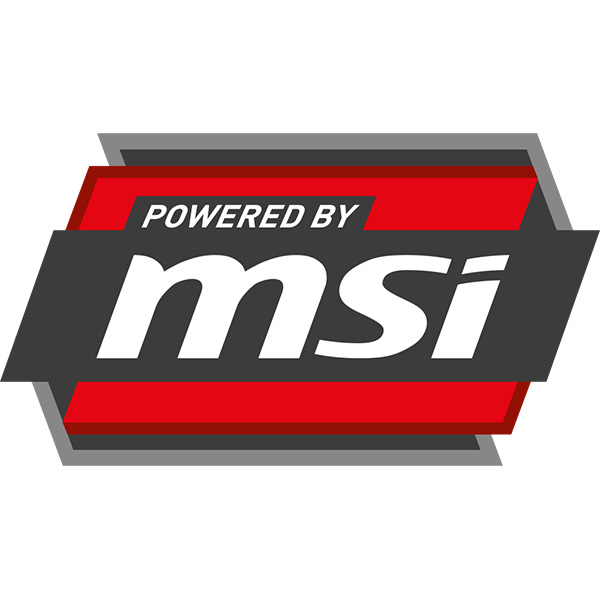 Powered by MSI
